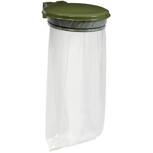 support sac poubelle avec couvercle pour l ext rieur. Black Bedroom Furniture Sets. Home Design Ideas