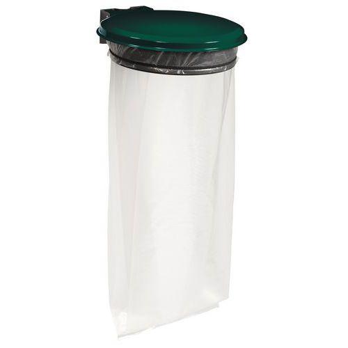 support sac poubelle avec couvercle pour l 39 ext rieur 110 l m. Black Bedroom Furniture Sets. Home Design Ideas