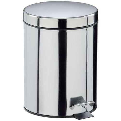 Poubelle Essencia à pédale métal - 5 L