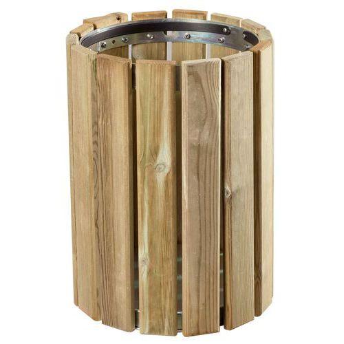 Poubelle en bois 20 l - Poubelle en bois ...