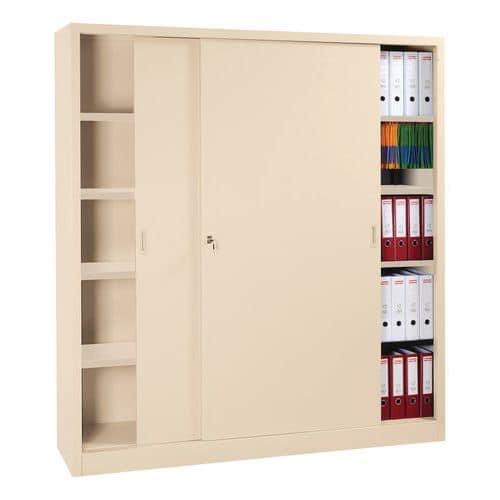 armoire monter avec portes coulissantes haute largeur 160. Black Bedroom Furniture Sets. Home Design Ideas