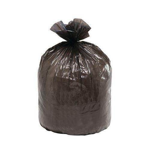 sac poubelle noir supert ne d chet lourd 100 130 l man. Black Bedroom Furniture Sets. Home Design Ideas
