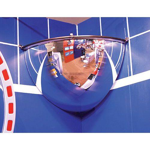 Miroir de sécurité 1/8 de sphère