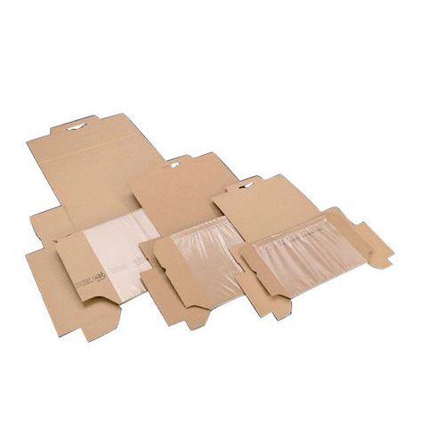 Boîte d'expédition carton Korrvu - Avec calage intégré