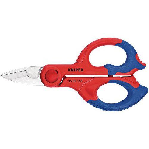 Ciseaux d'électricien coupe-câbles Knipex