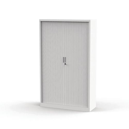 Armoire à rideaux Premium unie - Hauteur 198 cm