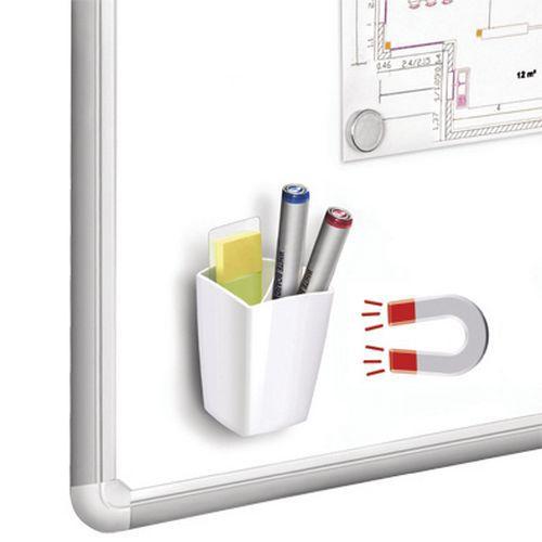 Pot crayons magn tique for Petit tableau magnetique