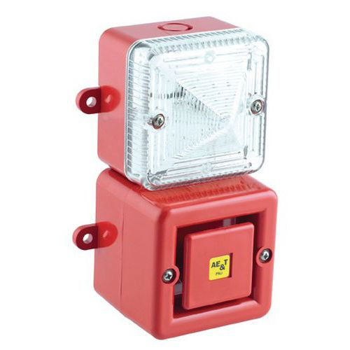 Combiné Tonaled avec sirène 100 dB et feu LED