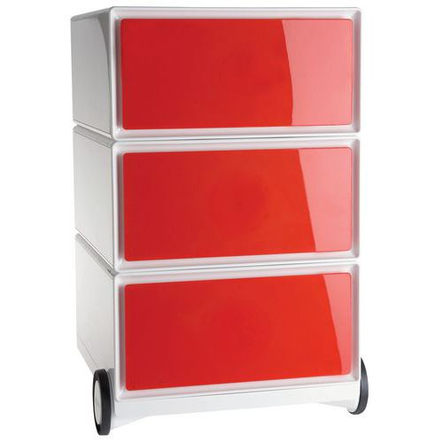 Caisson Mobile Easybox Rouge