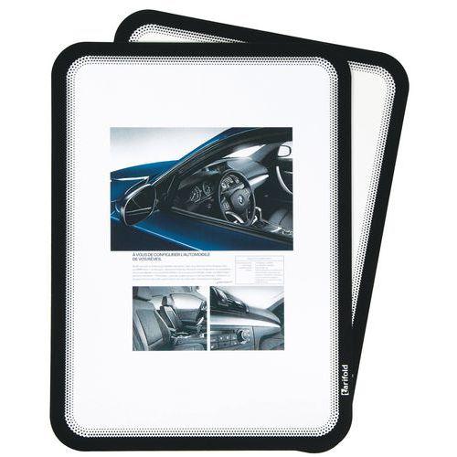Pochette cadre d'affichage magnétique Magneto SOLO A4