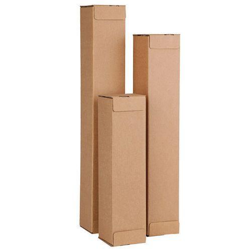 Caisse carton longue Pactube