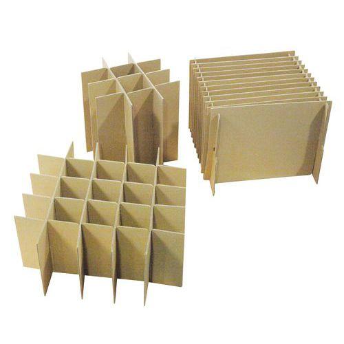 croisillon carton pour caisse d 39 emballage. Black Bedroom Furniture Sets. Home Design Ideas