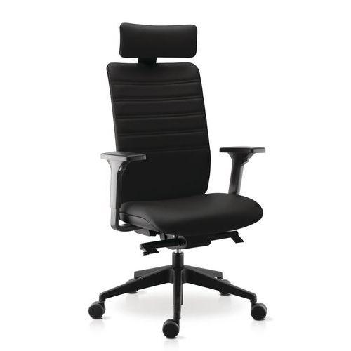 fauteuil de direction ergonomique max. Black Bedroom Furniture Sets. Home Design Ideas