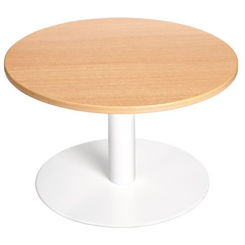 Table basse new line ronde for New line in the table