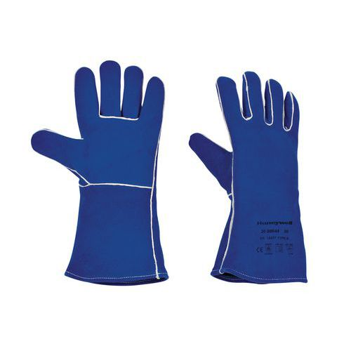 Gants soudeur Blue welding