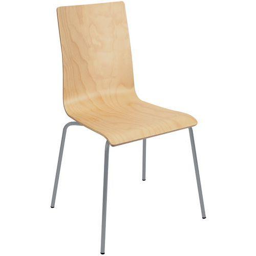 chaise restaurant coque bois. Black Bedroom Furniture Sets. Home Design Ideas