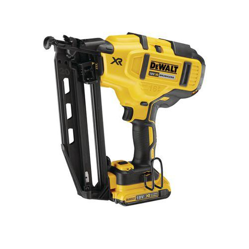 Cloueur de finition Dewalt 18V XR 2.0AH