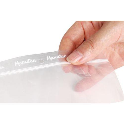 Sachets zip - Transparent 50 µm - Manutan