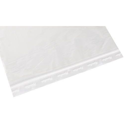 Sachet ZIP 100 microns transparent - Manutan