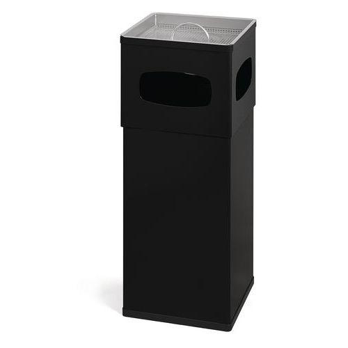 cendrier poubelle aluminium 50 l. Black Bedroom Furniture Sets. Home Design Ideas