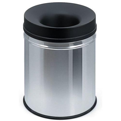 poubelle papier anti feu black top 20l et 48l. Black Bedroom Furniture Sets. Home Design Ideas