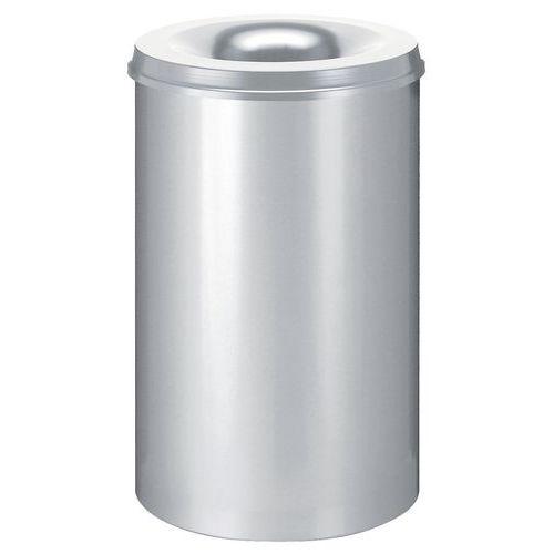 Poubelle à papier anti-feu - 110 L
