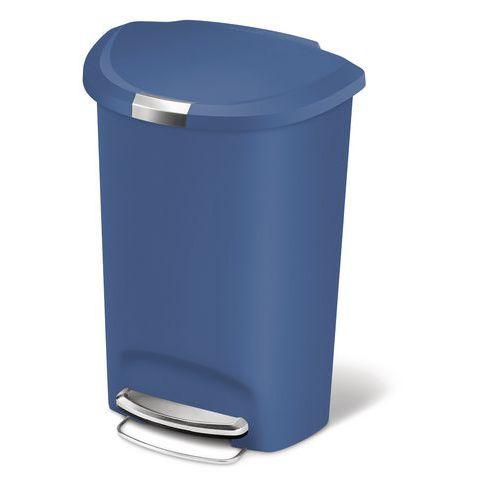 poubelle p dale en plastique demi lune 50 l. Black Bedroom Furniture Sets. Home Design Ideas