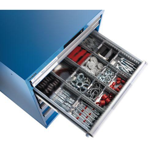 Set séparations pour tiroirs LISTA 102 cm