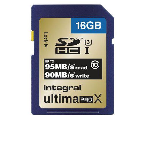 Carte mémoire SDHC/SDXC Ultima Pro X - Intégral