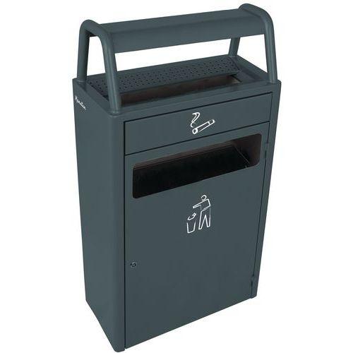 Cendrier-poubelle - 6 L / 43 L - Manutan