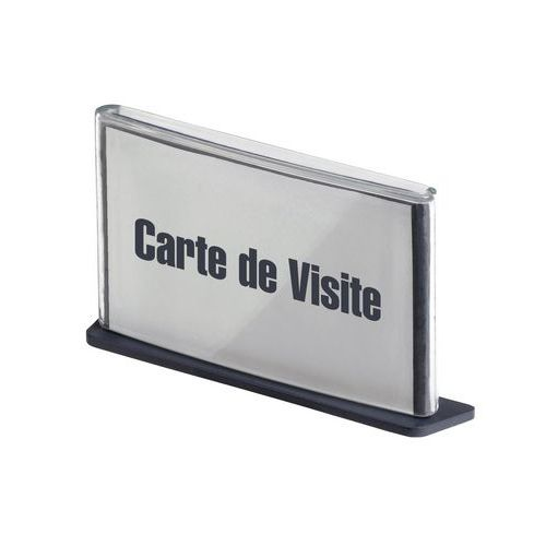 Plaque de signalisation Cinatur - Carte de visite - Paperflow