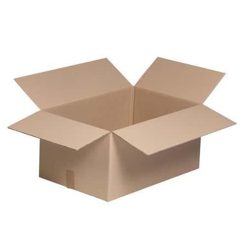 Caisse carton pour bidons - Simple cannelure