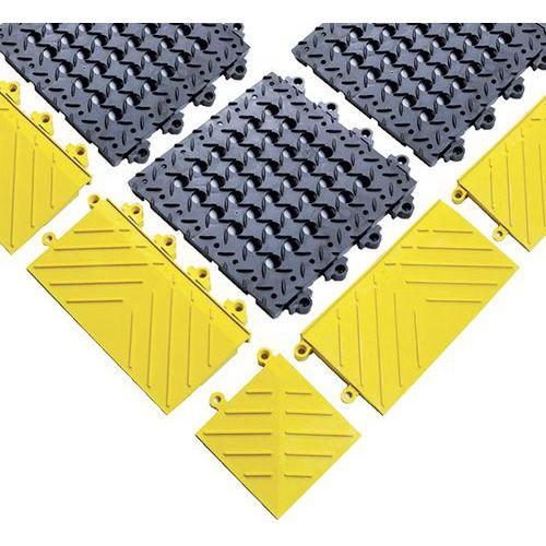 Bordure pour caillebotis antifatigue Diamond Flek Lok™ - Notrax