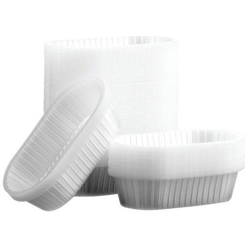 Caissettes plastique ovales
