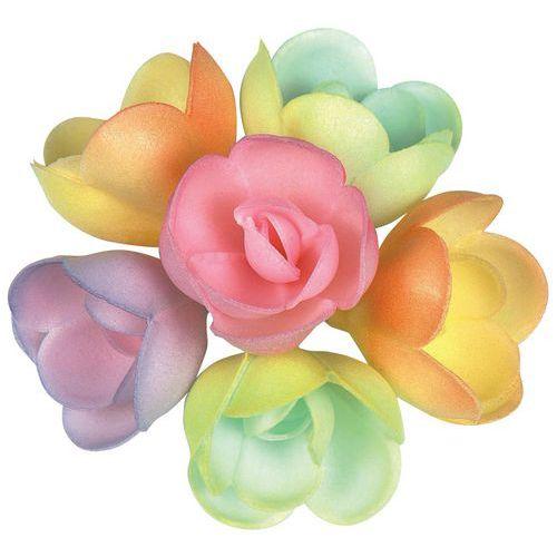 Décor comestible rose pastel 6 Coloris