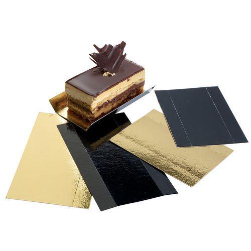 Fond carton plié or