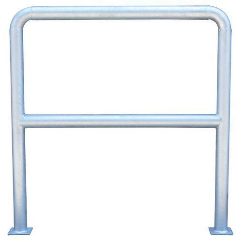 Barrière de protection - Ø 38 mm - Fixation à platine - Manutan