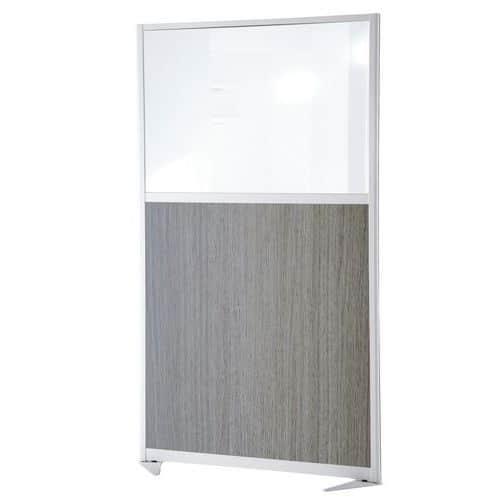 cloison de s paration tendance panneau semi vitr hauteur 17. Black Bedroom Furniture Sets. Home Design Ideas