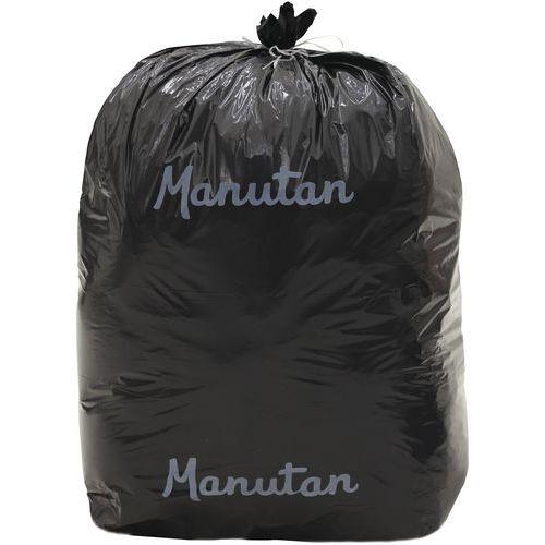 Sac-poubelle noir - Déchet lourd - 110 L et 200 L - Manutan