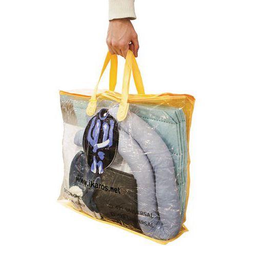 Kit d'absorbants en sac 35 L - Ikasorb