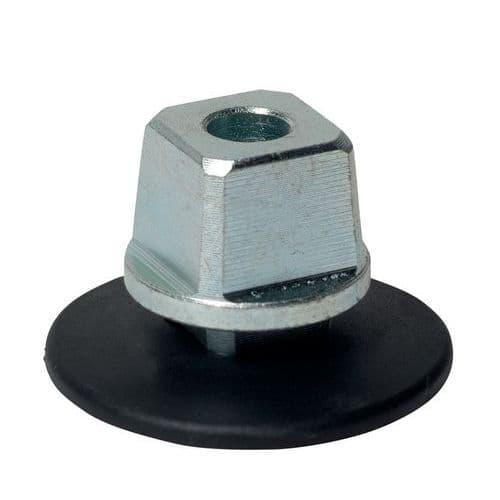 Axe carré amovible simple