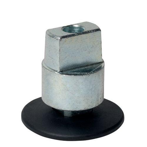 Axe carré amovible rallongé
