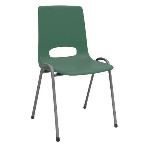Chaise coque plastique - Vert