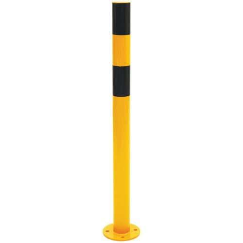 Poteau de protection noir/jaune- Manutan