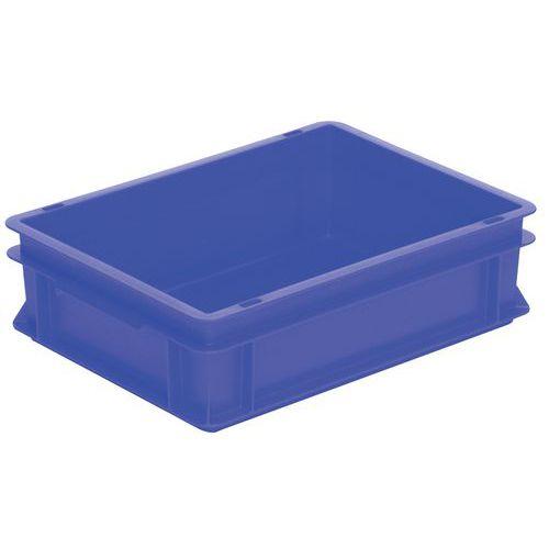 Bac gerbable norme Europe bleu RAKO - 10 à 60 L