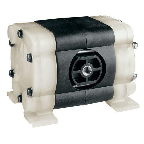 Pompe pneumatique à membranes plastique - Produits très corrosifs