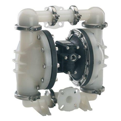 Pompe pneumatique à membranes plastique - Produits neutres ou légèrement corrosifs