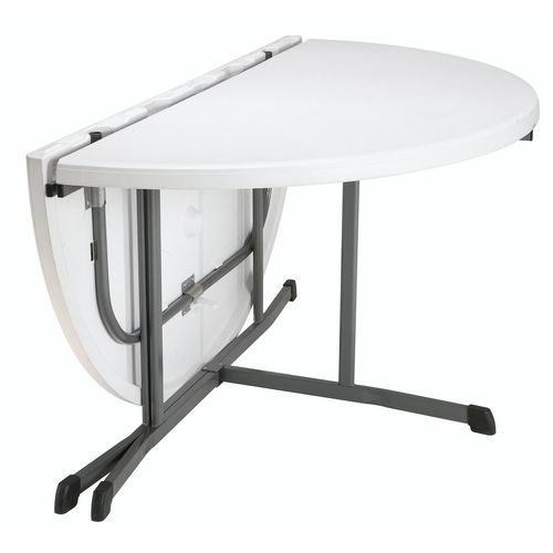 Lifetime table ronde pliante valise for Lifetime table pliante