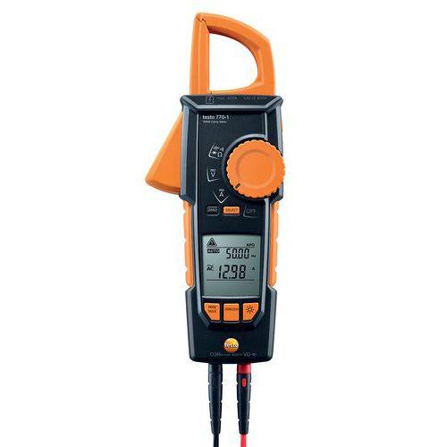 Pince ampère métrique TRMS - Testo 770-1