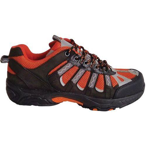 Chaussures de sécurité sport S1 P SRA noir/orange - Manutan
